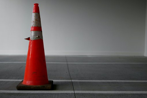 Safety Cone, Cone, Caution, Safety, Construction