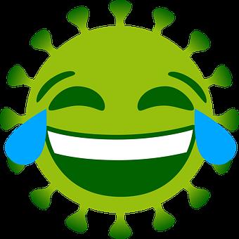 Coronavirus, Emoji, Laugh, Icon, Corona, Virus