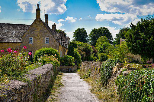 Cotswold, England, Cotswolds, Cottage