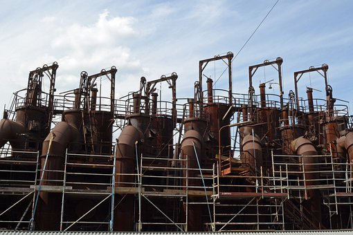 Industrial Archeology, Foundry, Iron, Metallurgy, Oven