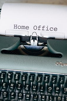 Home Office, Office, At Home, Apartment, Webinar
