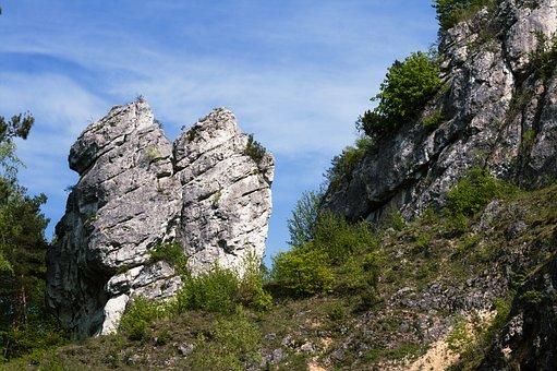 Jura Krakowsko-Czestochowa, Rocks, View