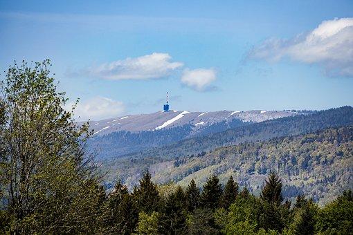 Jura, Mountains, Wide, Sky, Landscape, Transmitter