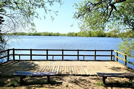 Lake, River, Landscape, Nature, Outdoors