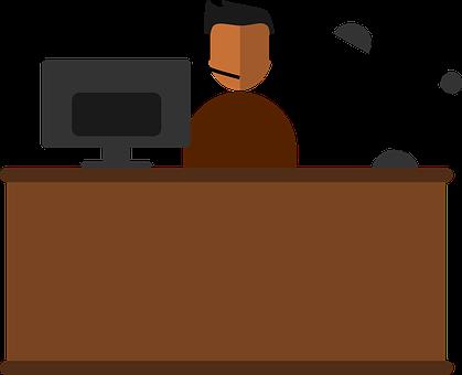 Home Office, Office, Work, Computer, Laptop, Desk