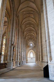 Cathedral, Knave, Deserted, Empty, St Barbara