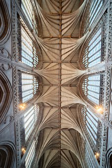 Lichfield, Cathedral, Ceiling, Vault, Staffordshire