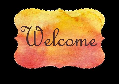 Door, Sign, Romantic, Welcome, Room, Welcome Tred
