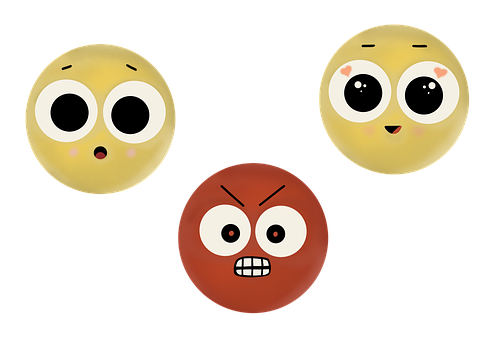Emoji, Face, Emotions, Smiley, Angry, Happiness