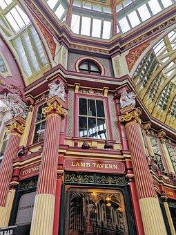 Leadenhall, Market, Arcade, Mall, London, Victorian