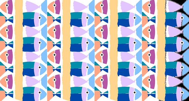 Fish, Texture, Pattern, Sea, Modulate