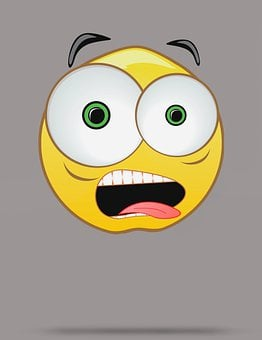 Emoji, Emoticons, Shocked, Funny, Surprised, Tongue Out