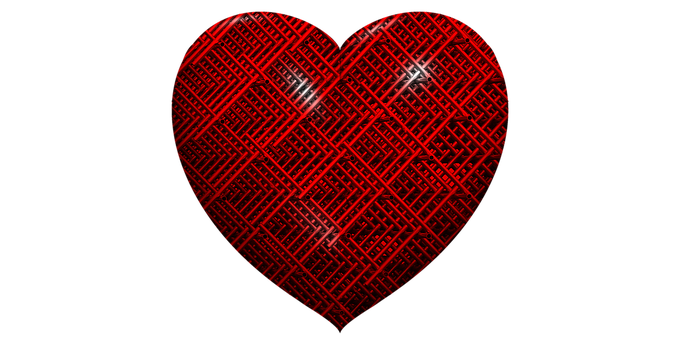 Heart, Valentines Day, Valentine, Mesh, Wire, Couples
