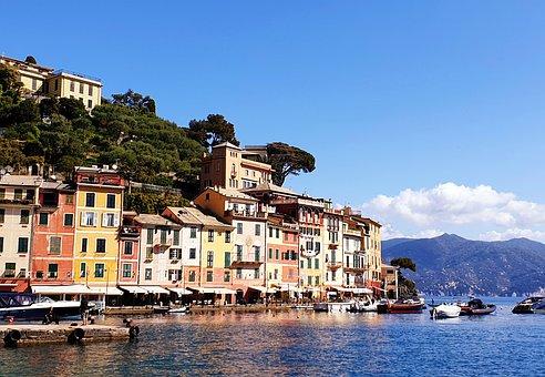Portofino, Riviera, Liguria, Architecture, Building