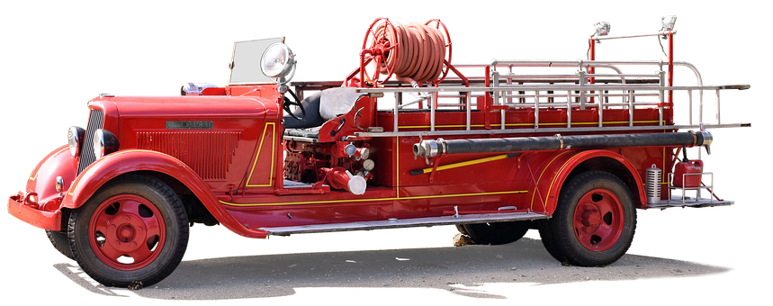 Dodge Brothers, Pumper, Free And Edited, Fire Truck