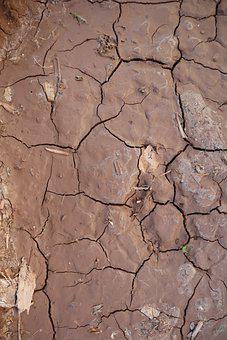 Drought, Earth, Dry, Drying, Cracked, Texture, Desert