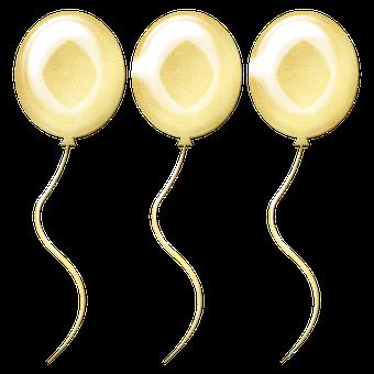 Gold Foil Balloons, Balloon, Pay, Gold, Pink, Golden