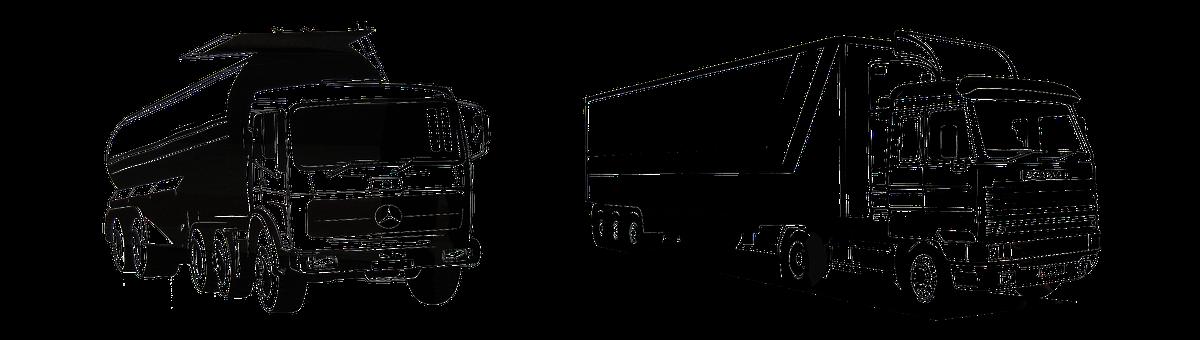 Mercedes Benz, Scania Topliner, Graphic