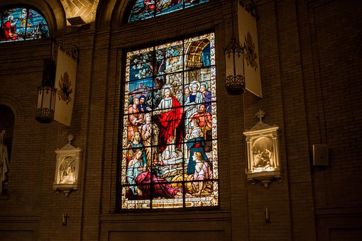 Stained Glass, Church Window, Church, Jesus, Window