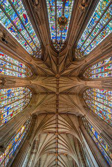 Lichfield Cathedral, Stained Glass, Lady Chapel, Gothic