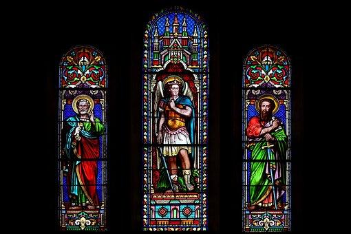 Religion, Catholic, Saint, Michel, Pierre