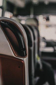 Bus, Car Door, Chair, Airport, Sit, Street, People
