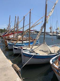 Bandol, France, Port, French Riviera, Boat, Fishermen