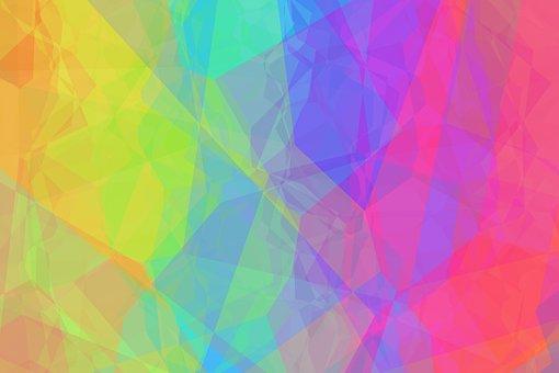 Spectrum, Rainbow Colors, Background, Color, Colorful