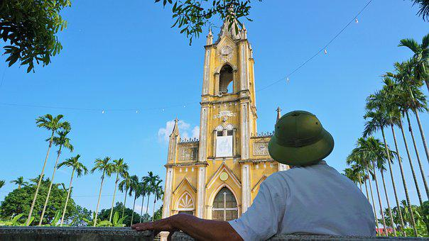 Church, Old Man, Sit In The Chair, Blue Sky