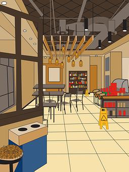 Starbucks, Store, Inside, Coffee Shop
