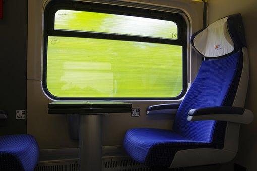 Train, Travel, Train Compartment