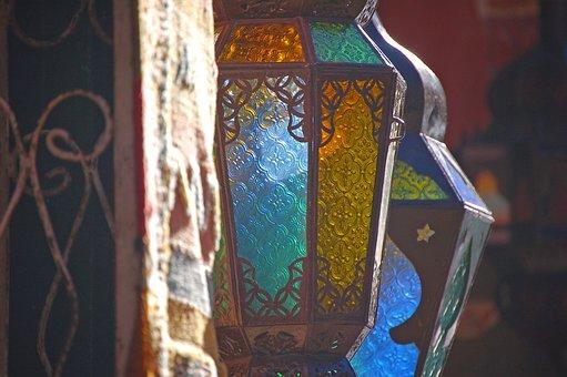 Lanterns, Morocco, Souks, Travel, Marrakech, Lantern