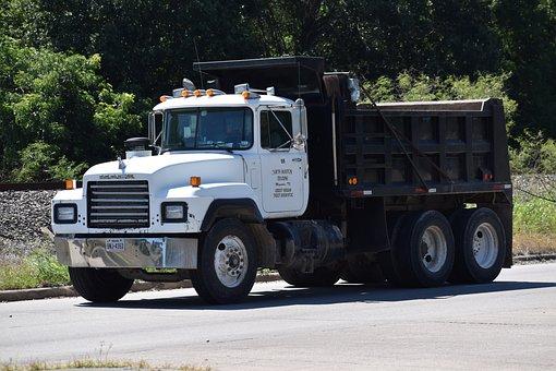 Dump Truck, Construction, Demolition, Dumper, Heavy