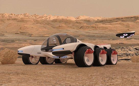 Concept, Truck, Vehicle, Auto, Transportation, Fast
