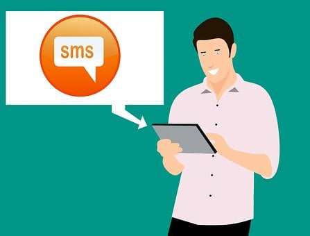 Message, Contact, Texting, Inbox, Tablet, Young, Full