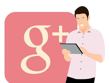 Google Plus, Application Social Media, Tablet, Young