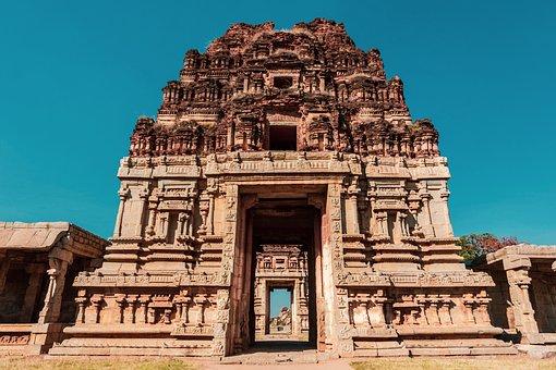 Temple, India, Indian, Hinduism, Hindu, Ruins
