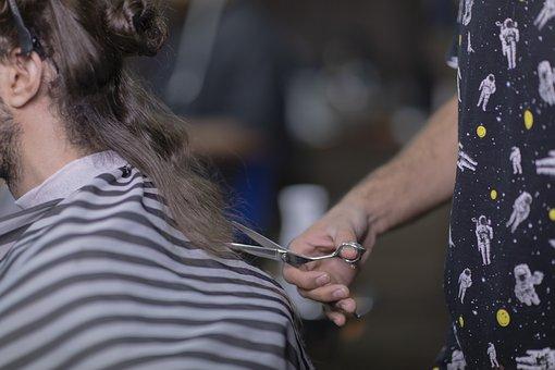 Barber Shop, Day, Iran, Cosmetology, Mashhad