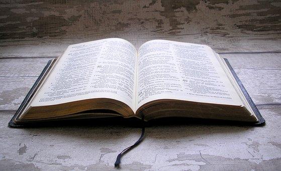 Holy Bible, Bible, Open Book, Jesus, God, Cross
