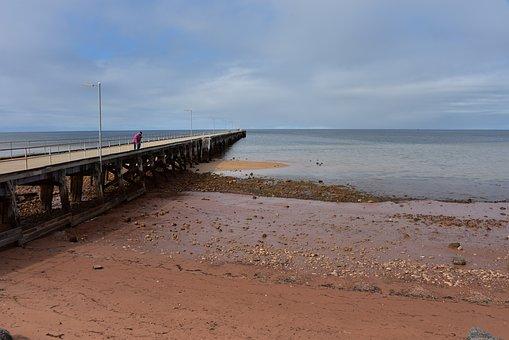 Jetty, Pier, Ocean, Sea, Water, Beach