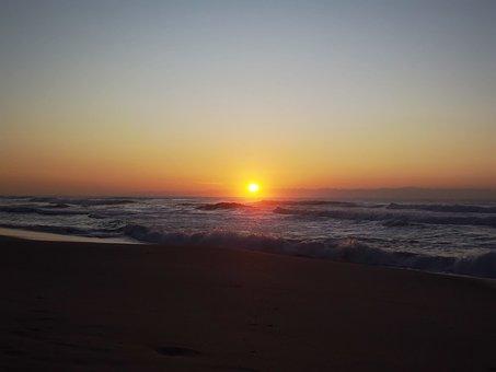 Sunrise, Sun, Morning, Sky, Landscape