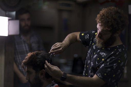 Barber Shop, Day, Iran, Cosmetology, Mashhad, People