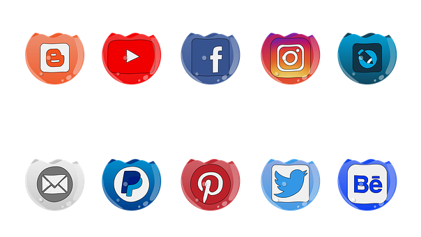 Social, Mass Media, Icons, Facebook, Icon, Instagram