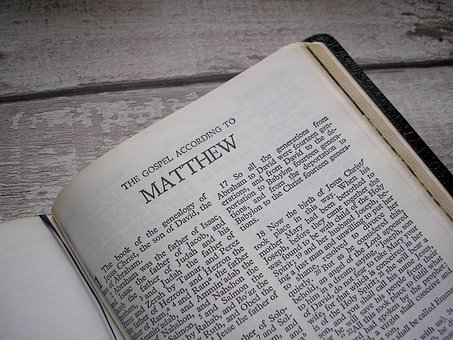 Holy Bible, Bible, Matthew, Jesus, God, Christian