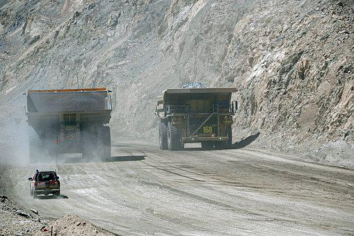 Truck, Giant, Weight, Mine, Minerals