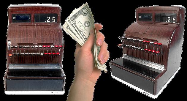 Cash Register, Cashbox, Payment, Shop, Money, Pay