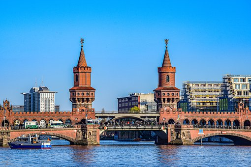 Oberbaumbrücke, Berlin, Germany, Europe, Vacations