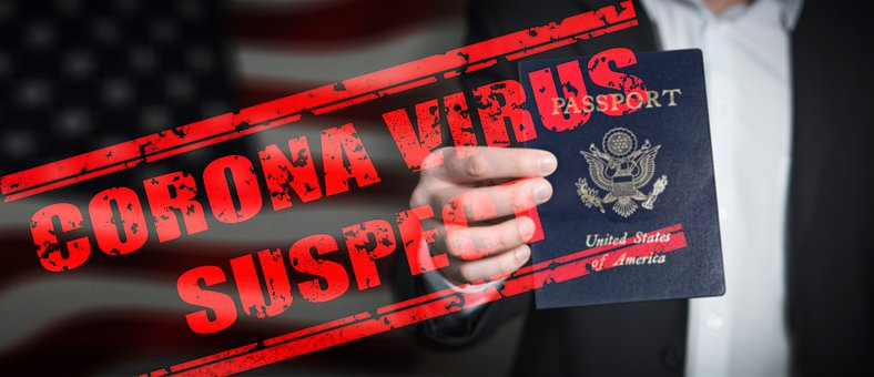 Corona, Pass, Passport, Mobility, Stamp, Temporarily