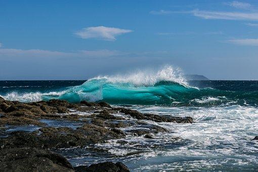 Ocean, Wave, Sea, Beach, Nature, Summer, The Coast