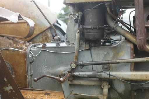Motor, Tractor, Massey-ferguson, Vehicles, Tractors